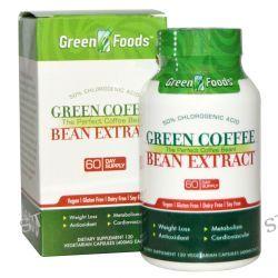 Green Foods Corporation, Green Coffee Bean Extract, 400 mg, 120 Veggie Caps