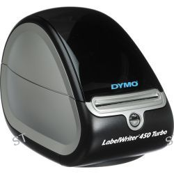 Dymo Label Writer 450 Turbo with White Shipping Labels Kit B&H