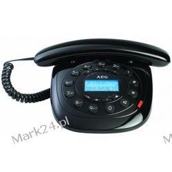 AEG Telefon sznurowy style 12 czarny