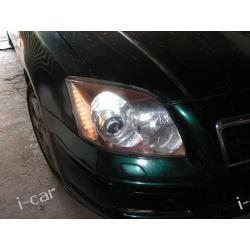 Toyota AVENSIS - regeneracja xenon oraz montaż LED
