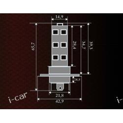 ŻARÓWKA LED HALOGEN H4 18 SMD 5060 12V