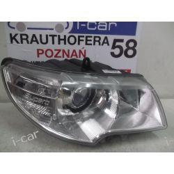 SKODA SUPERB II -PRAWA LAMPA REFLEKTOR -ORYGINAŁ