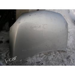 Opel CORSA C maska pokrywa silnika
