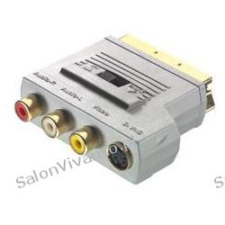 ADAPTER EURO  3xRCA (L+P+VIDEO)+ S-Video  Sound&Image