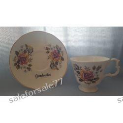 porcelanowa filiżanka + spodeczek  Antyki i Sztuka
