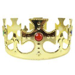 Korona Króla strój książę królewska ZŁOTA królowa
