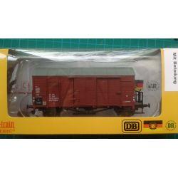 Exact-Train EX20766 Wagon towarowy kryty Oppeln .Glm (Kddt) z ładunkiem, PKP, Ep. IV
