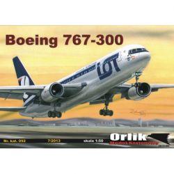 Boeing 767 - 300 ER 1/50 ORLIK 092