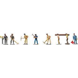 Figurki Robotnicy kolejowi, FALLER 155304