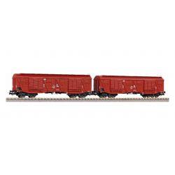 Zestaw 2 wagonów Gags 401Ka PKP, PIKO 58376
