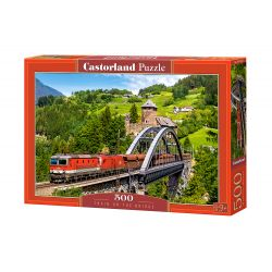 Puzzle Train on the Bridge , CASTORLAND