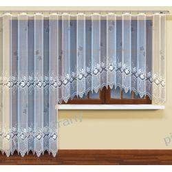 firany balkonowe geste żakardowe z tasma 22257