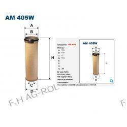FILTR POWIETRZA FILTRON-AM 405W (BEZPIECZNIK,WEWNĘTRZNY) FENDT FAVORIT ,RENAULT,ZAMIENIK MANN-CF1200