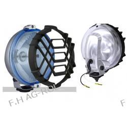 Halogen Drogowy reflektor - chromowany, błękitny 12v/24v (FI 152mm)