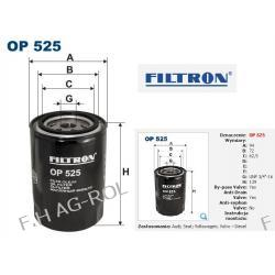 FILTR OLEJU OP 525.AUDI A4 -1.9 TDI/IBIZA II-1.9 D /VOLKSWAGEN GOLF III-,1.9 D/PASSAT-1.6TD,1.9TDI/SHARAN 1.9 TDI /FENDT FARMER 312 Turbo