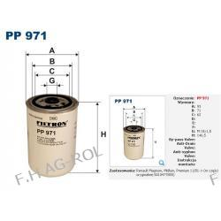 FILTR PALIWA FILTRON PP 971,RENAULT:PREMIUM,HD220dCi,HD270 dCi,HD370 dCi,HR420 dCi/KERAX/MAGNUM/MIDLUM I