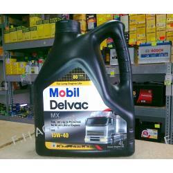 Mobil Delvac MX 15W-40 opakowanie 4 litry ,olej silnikowy