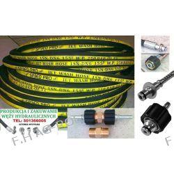 Wąż przewód do myjki KARCHER ,250 BAR, TEMP: DO 155° ,DN06 , oplot metalowy