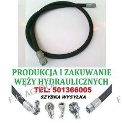 PRZEWÓD HYDRAULICZNY DN10, AA-1600mm, 2 x NAKRĘTKA-GWINT M18x1.5 / 180 BAR