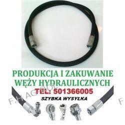 PRZEWÓD HYDRAULICZNY DN10, AA-3500mm, 2 x NAKRĘTKA-GWINT M18x1.5 / 180 BAR , Lampy tylne