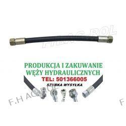 WĄŻ PRZEWÓD HYDRAULICZNY DN10,330 BAR, AA-1600mm, 2 X NAKRĘTKA-GWINT M18x1.5