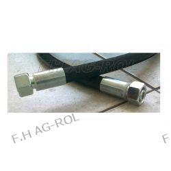 PRZEWÓD HYDRAULICZNY DN13, AA-500mm, 2 X NAKRĘTKA-GWINT M22x1.5 / 275 BAR/2SN