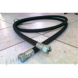 PRZEWÓD HYDRAULICZNY-1200 mm,2 x nakrętka-gwint:1/2,klucz 27mm,TYP WĘŻA EN 853-2SN,275BAR Żarówki