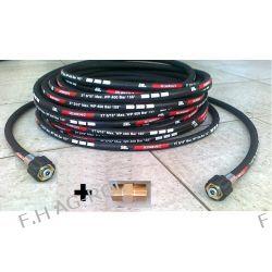 Wąż przewód 8 mert. DN08 400BAR,do myjki-KARCHER HD HDS ,Przedłużka + nypel do połączenia węży