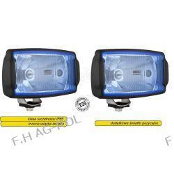 Drogowe reflektory halogenowe - błękit cena za 2szt=1kpl ,firmy wesem