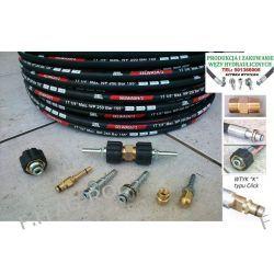 Wąż przewód do czyszczenia kanalizacji KARCHER ,250 BAR, TEMP: DO 155° ,DN06 , oplot metalowy
