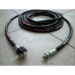 Wąż przewód do myjki KARCHER 6 metrów,250 BAR, TEMP: DO 155°,wtyk 10mm+NAKRĘTKA M22 x 1,5