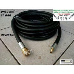 Wąż przewód gumowy do kompresora-sprężarki,30 metrów. 20-BAR. DN10, zakuty Lampy tylne