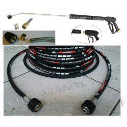 Przewód wąż Karcher HD HDS przedłużka 250 bar 18metr+pistolet+lanca+dysza