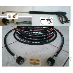 Przewód wąż Karcher HD HDS przedłużka 250 bar 10metr+pistolet+lanca+dysza