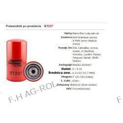 Filtr oleju BALDWIN FILTERS NR:BT237, odpowiednik MASSEY FERGUSON,PERKINS NR:2654407