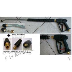 Pistolet + Lanca + dysza DO KARCHER HD HDS 345 BAR +DYSZA ROTACYJNA 207 BAR