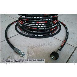 Wąż 20 metr. do myjki KARCHER serii:K2, K3., K4., K5., K6., K7 (stary typ) /HD /HDS,wtyk 10mm+nakrętka M22x1,5 Lampy tylne
