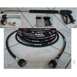 Przewód wąż Karcher HD HDS przedłużka 250 bar 15metr+pistolet+lanca+dysza
