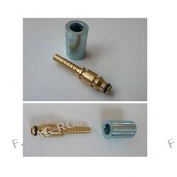 Wtyk do pistoletów na przycisk od myjek (STIHL , NILFISK)+tuleja zaciskowa