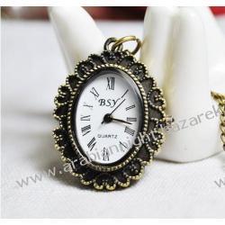 Zegarek w stylu naszyjnika - retro / Walewska / 2