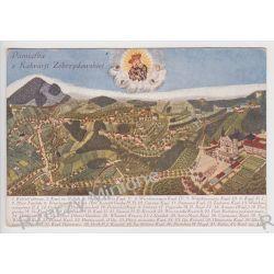 Kalwaria Zebrzydowska - panorama opisane obiekty