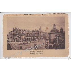 Kraków - rynek Sukiennice - 1918 r