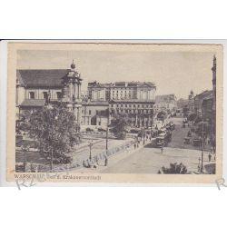 Warszawa - ul. Krakowska  - okupacja tramwaj