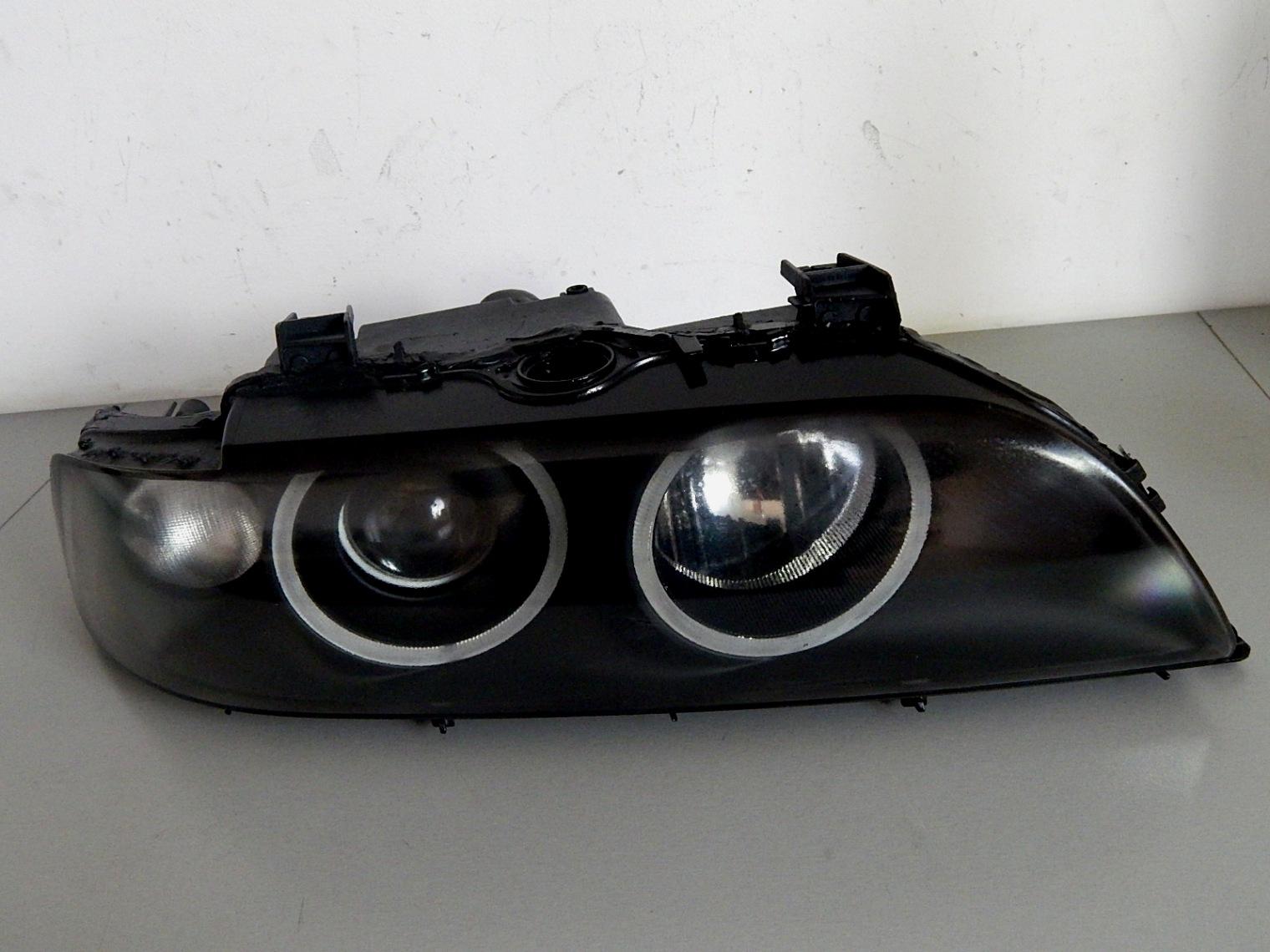 Bmw E39 Lift Prawa Lampa Bi Xenon Czarna Motoryzacja Auto Lampy