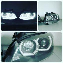 BMW - montaż mocnych białych ringów