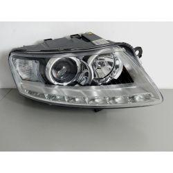 AUDI A6 C6 LIFT LED PRAWA LAMA BI-XENON PRZÓD