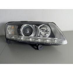 AUDI A6 C6 LED PRAWA LAMPA BI-XENON NIESKRĘTNA