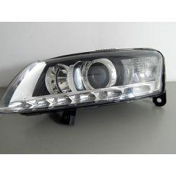 AUDI A6 C6 BI-XENON LIFT LED LEWA LAMPA PRZÓD