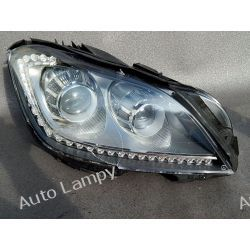 MERCEDES CLS W218 BI-XENON PRAWA LAMPA LED