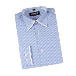 Koszula chłopięca w niebieski prążek